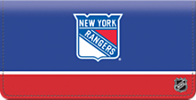 New York Rangers National Hockey League Checkbook Cover