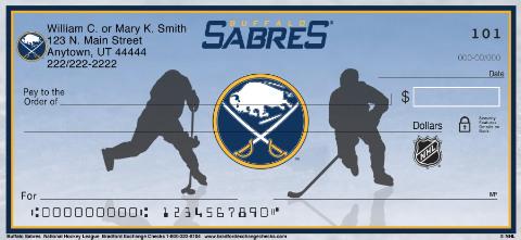 Buffalo Sabres National Hockey League Personal Checks