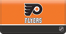 Philadelphia Flyers National Hockey League Checkbook Cover