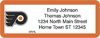 Philadelphia Flyers® NHL® Return Address Label
