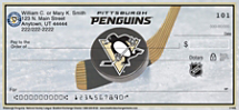 Pittsburgh Penguins National Hockey League Personal Checks