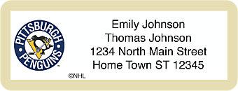 Pittsburgh Penguins® NHL® Return Address Label