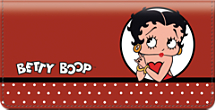 Betty Boop Kiss Checkbook Cover