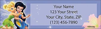 Tinker Bell & Friends Return Address Label