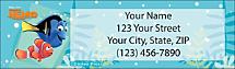 Finding Nemo Return Address Label