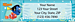 Finding Nemo Return Address Label
