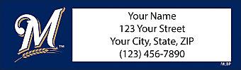 Milwaukee Brewers™ MLB® Return Address Label