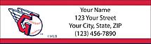 Cleveland Indians MLB Baseball Return Address Label