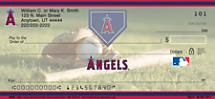 Los Angeles Angels of Anaheim Major League Baseball Personal Checks