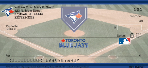 Toronto Blue Jays Major League Baseball Personal Checks
