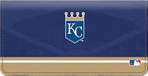 Kansas City Royals MLB Baseball Checkbook Cover