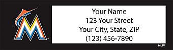 Miami Marlins™ MLB® Return Address Label