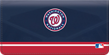Washington Nationals MLB Baseball Checkbook Cover