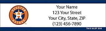 Houston Astros™ MLB® Return Address Label