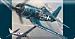 Nostalgic Fighter Planes Checkbook Cover