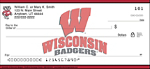 University of Wisconsin Badgers Checks