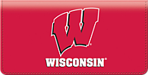 University of Wisconsin Checkbook Cover