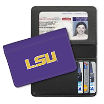 Louisiana State University Small Card Wallet