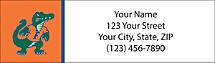 University of Florida Return Address Label