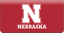 University of Nebraska Checkbook Cover