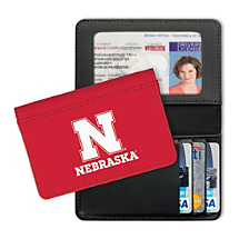 University of Nebraska Small Card Wallet