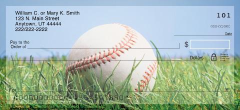 Baseball Personal Checks