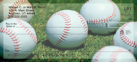 Baseball Personal Checks