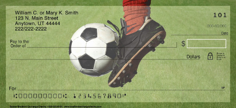 Soccer Personal Checks