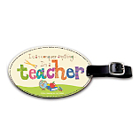 Teacher Pride Gets a Stylish Shout Out with this Inspirational Bag Tag