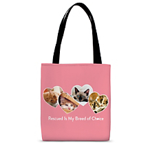Proudly Carry the Love You Share for Cats Everywhere in this Cute Carryall!