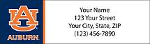 Auburn University Return Address Label