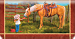 Cowboy Kids Checkbook Cover