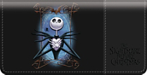 The Nightmare Before Christmas Checkbook Cover