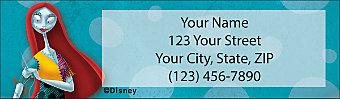 The Nightmare Before Christmas Return Address Label