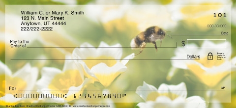 Bumble Bee Buzz Personal Checks
