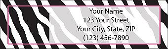 Fashion Safari Return Address Label