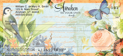 Garden Whispers Personal Checks