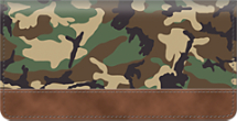 Camouflage Checkbook Cover