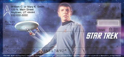 Star Trek Personal Checks