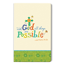 Keep the Faith While Keeping Organized with this Delightful Notebook Journal