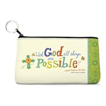 Words of Faith Go a Long Way When They Travel on a Fashionable Handbag