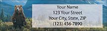 Great Outdoors Return Address Label