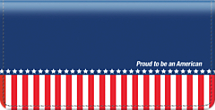 Proud to be an American Checkbook Cover