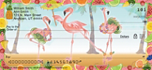 Flamingo Fun Personal Checks