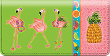 Flamingo Fun Checkbook Cover