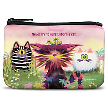 Giggles are Sure to Follow Wherever You Go When You Carry This Purr-fect Pouch