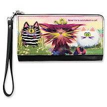 Embrace Your Wacky CAT-itude with a Fashionably Funny Clutch