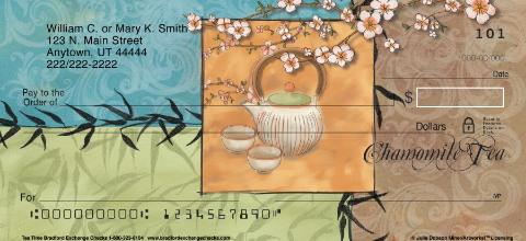 Tea Time Personal Checks