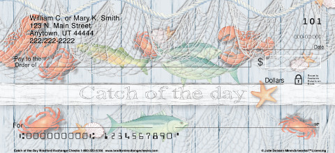 Catch of the Day Personal Checks