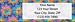 Retroflection Flowers Return Address Label